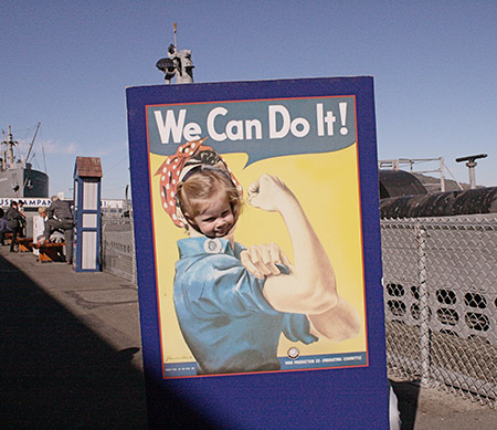 San Francisco Alma the Riveter Andthenthey