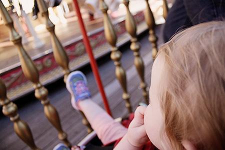 San Francisco Harriet Watching Carousel