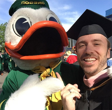 Peter Hollens UO Commencement