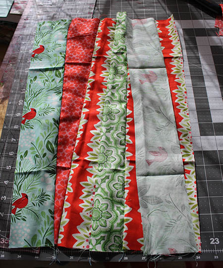andthenthey Quilted Christmas Table Runner 06