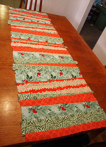 andthenthey Quilted Christmas Table Runner 07